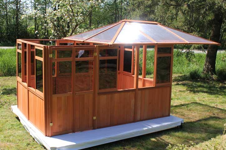 Solarus gazebo roof installation