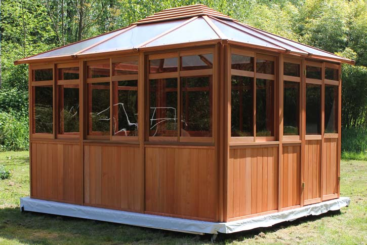 Completed Solarus 11x13 Gazebo