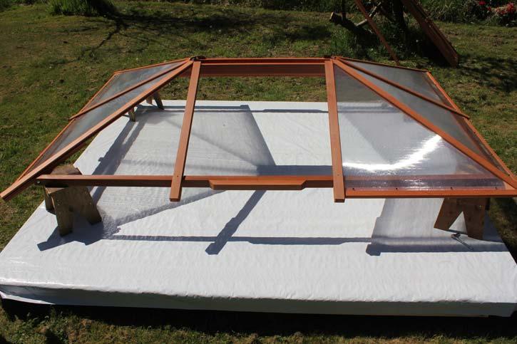 gazebo roof assembly