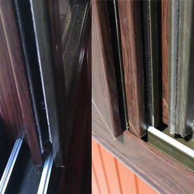 gazebo aluminum window railing