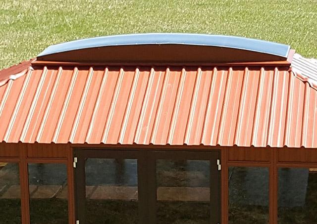 Aspen gazebo roof