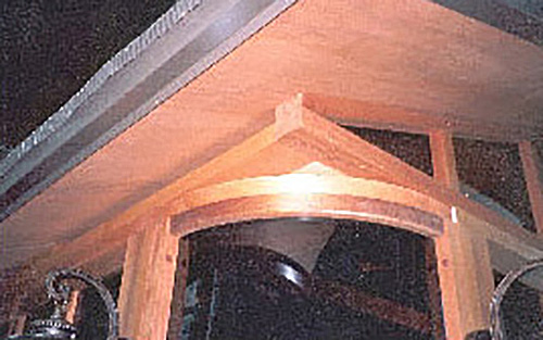 a gazebo corner