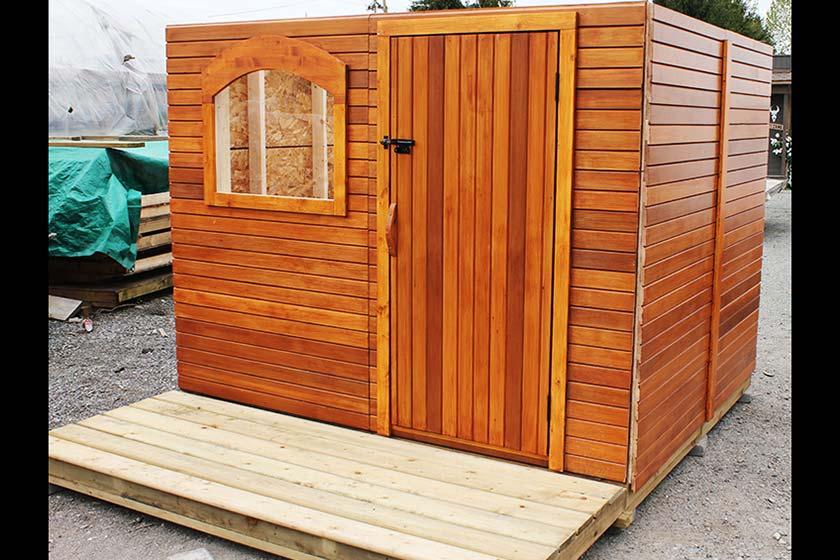 Aligning Front Door Wall - Spa Gazebo|Hot Tub Enclosure - Westview Manufacturing