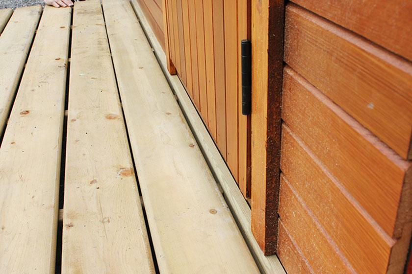 Porch End Bar - Spa Gazebo|Hot Tub Enclosure - Westview Manufacturing