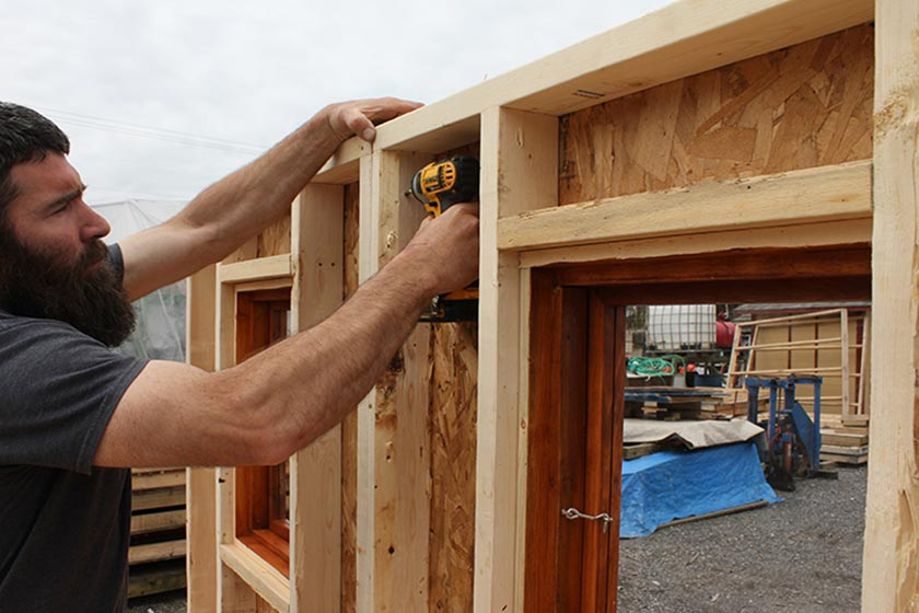 Attaching 2 Back Walls - Spa Gazebo|Hot Tub Enclosure - Westview Manufacturing