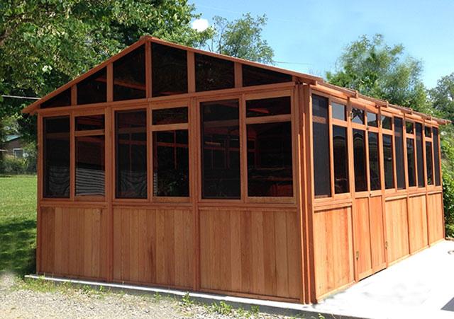 Complete Sochalet 13x21 - Spa Gazebo Hot Tub Enclosure - Westview Manufacturing