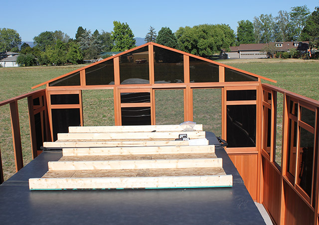 Roofless Gazebo - Spa Gazebo|Hot Tub Enclosure - Westview Manufacturing