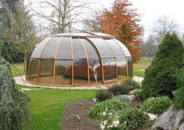 Sunhouse in the garden