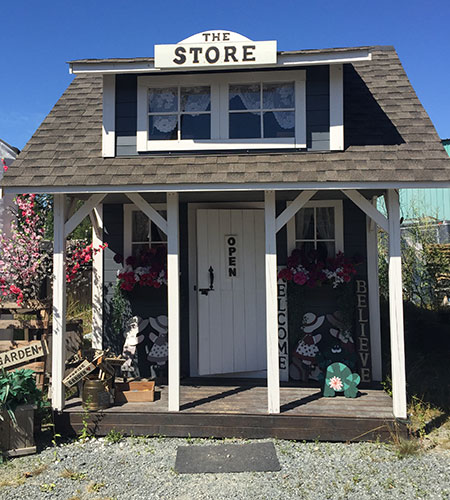 The Store cabin