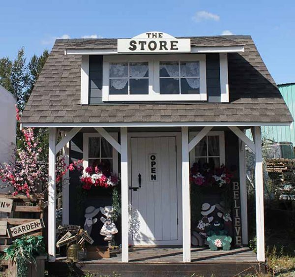 The Store cabin front