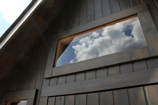 woodlands cabin window