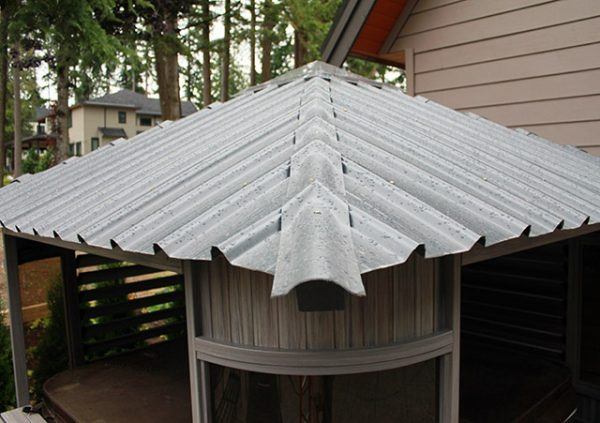 Zento gazebo roof