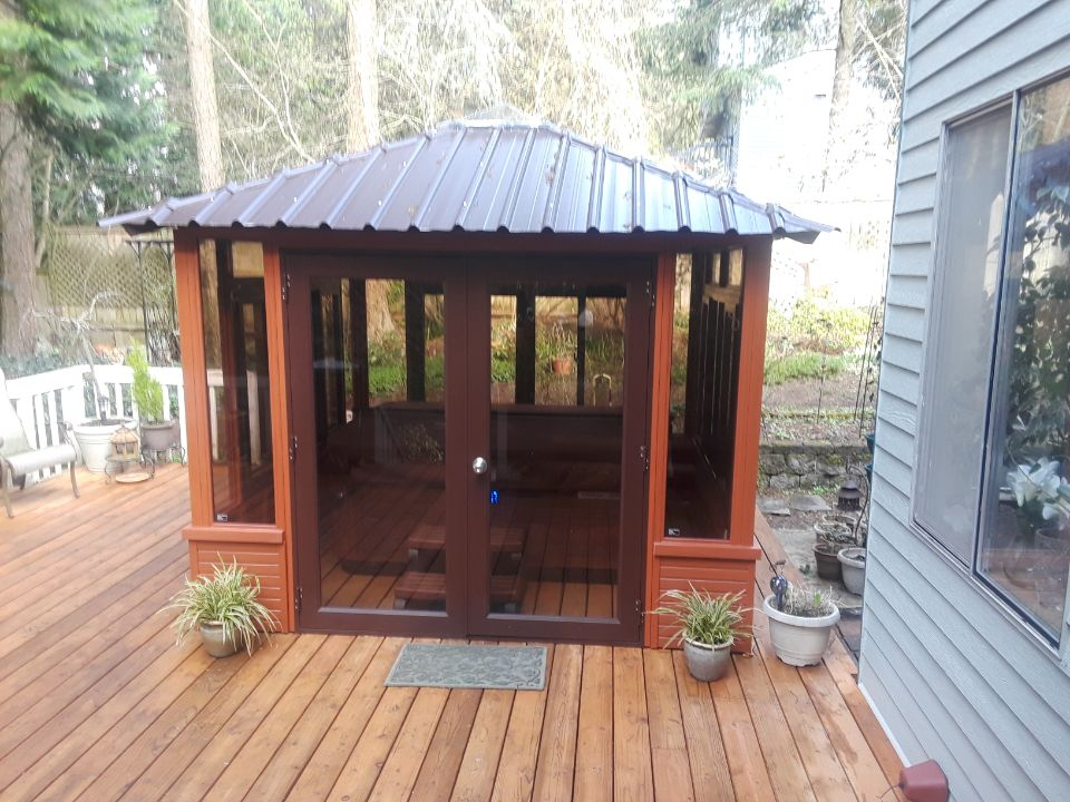 Hot Tub Gazebo Brentwood 10 10 Westview Manufacturing