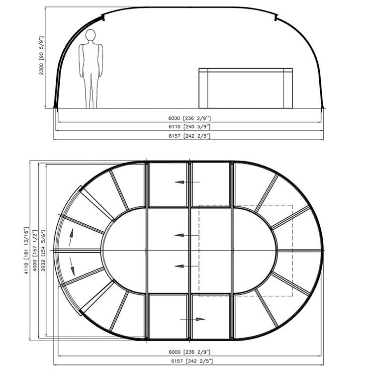 Sunhouse elevation drawing