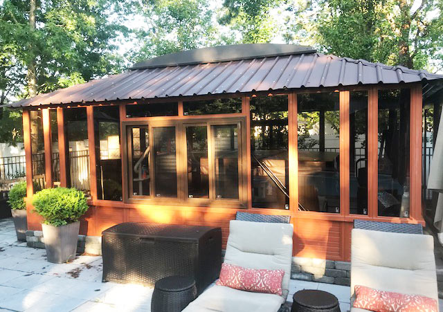 brentwood gazebo hot tub enclosure