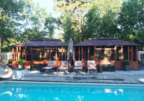 brentwood gazebo hot tub enclosure